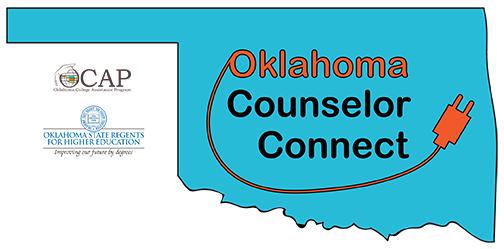 Oklahoma Counselor Connect logo.